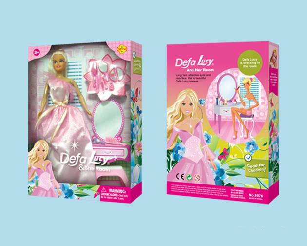 Кукла Defa с аксессуарами и туалетным столиком, 29 смКуклы Defa Lucy<br>Кукла Defa с аксессуарами и туалетным столиком, 29 см<br>