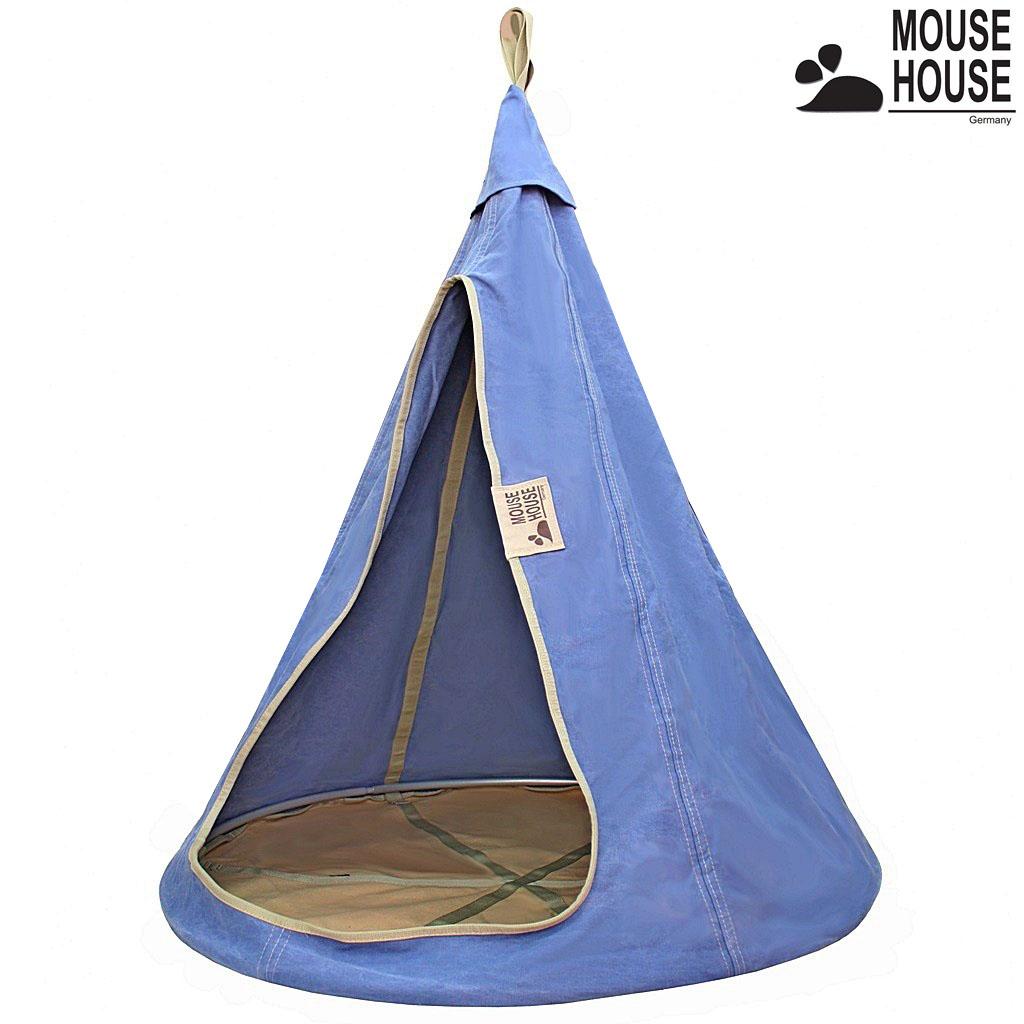 Подвесной гамак-качели, диаметр 110 см, джинс светлый - Разное, артикул: 164264