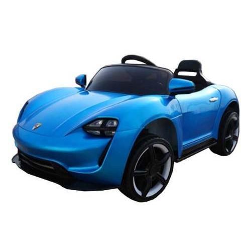 Купить Электромобиль - Porsche Sport QLS 8988, синий, свет и звук, ToyLand