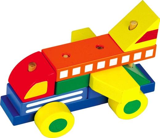 Мир деревянных игрушек Конструктор - автомобиль 1