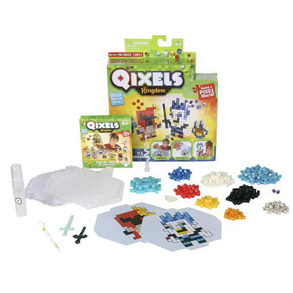 Набор для творчества из серии Qixels – Ледяные воиныДетский 3D принтер QIXELS<br>Набор для творчества из серии Qixels – Ледяные воины<br>