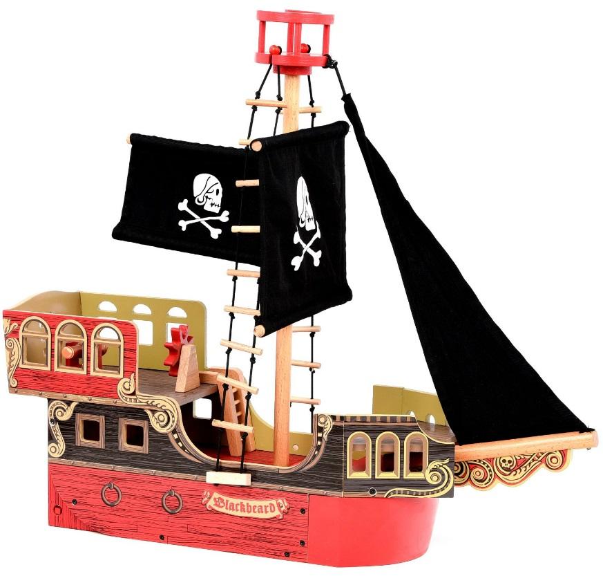 Пиратский корабль из дереваФигурки Papo<br>Пиратский корабль из дерева<br>