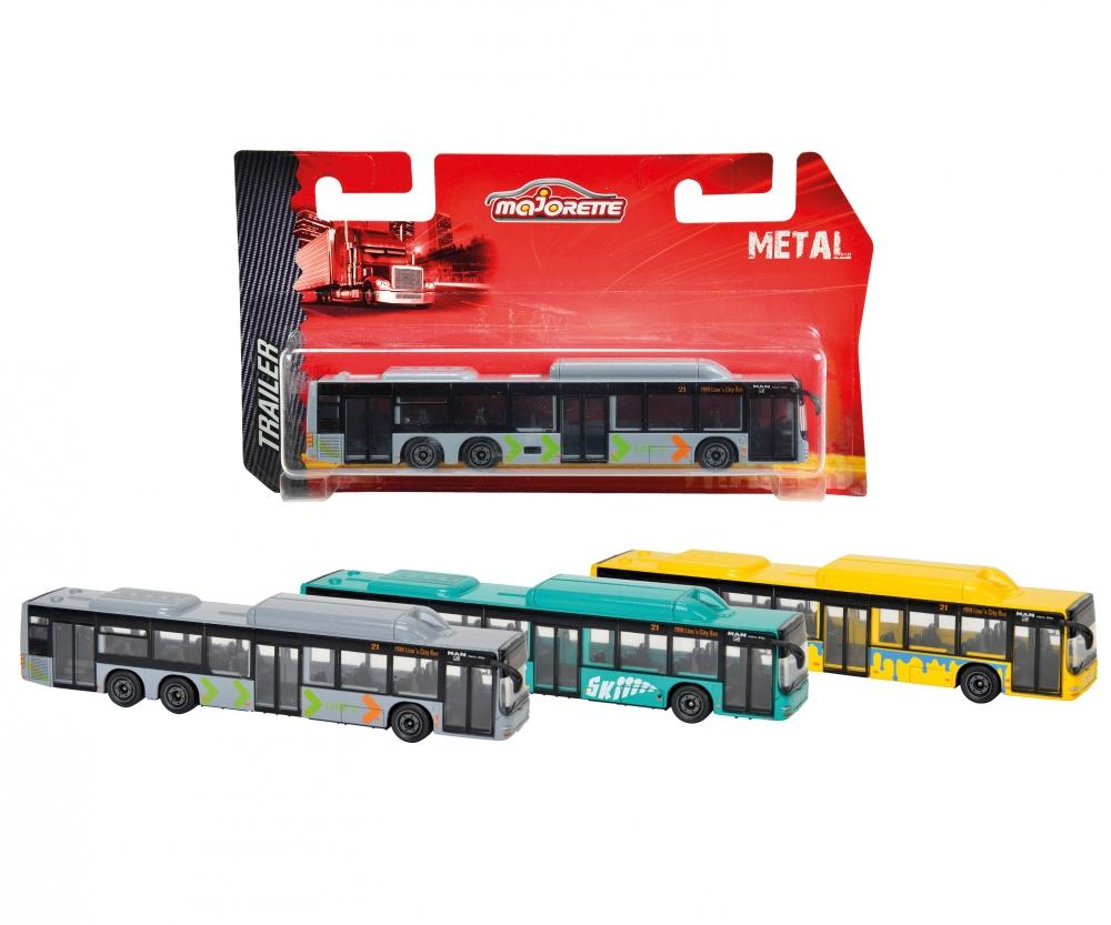 Автобус городской Man, 3 вида, 13 см.Автобусы, трамваи<br>Автобус городской Man, 3 вида, 13 см.<br>