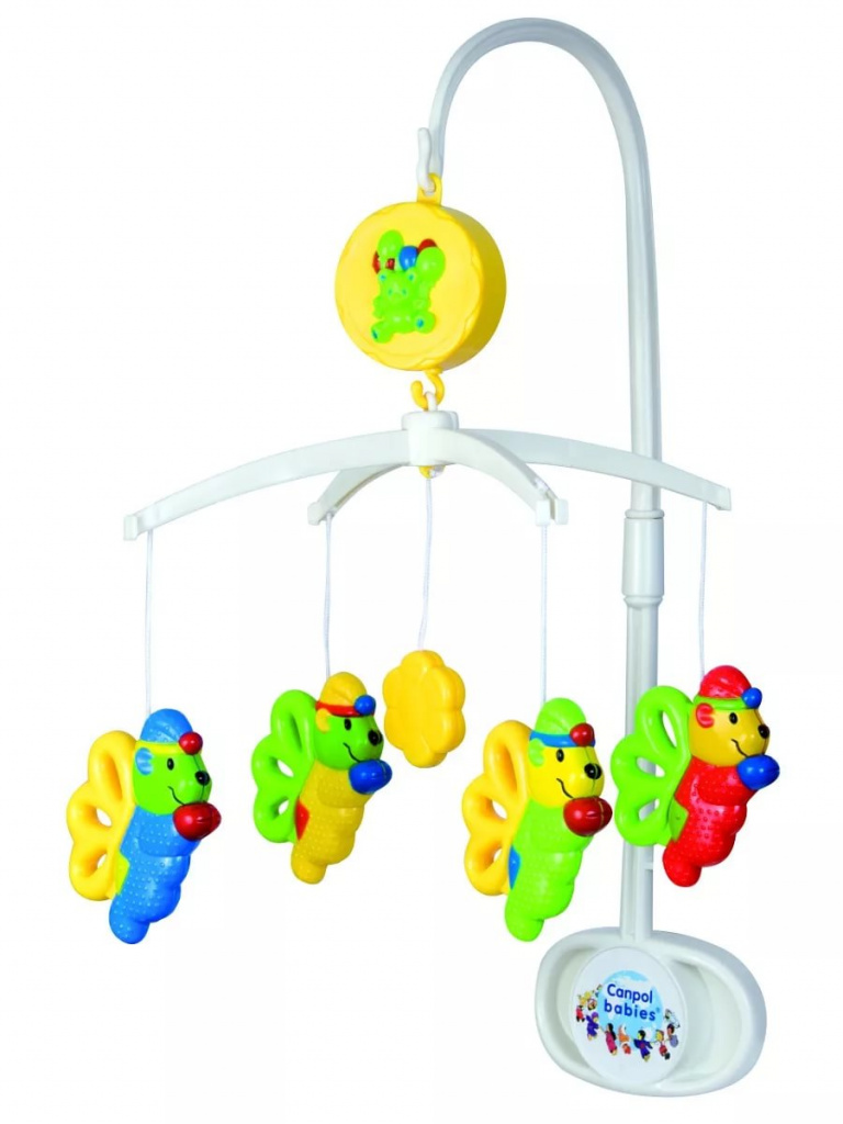Карусель музыкальная - эльфыМобили и музыкальные карусели на кроватку, игрушки для сна<br>Карусель музыкальная - эльфы<br>