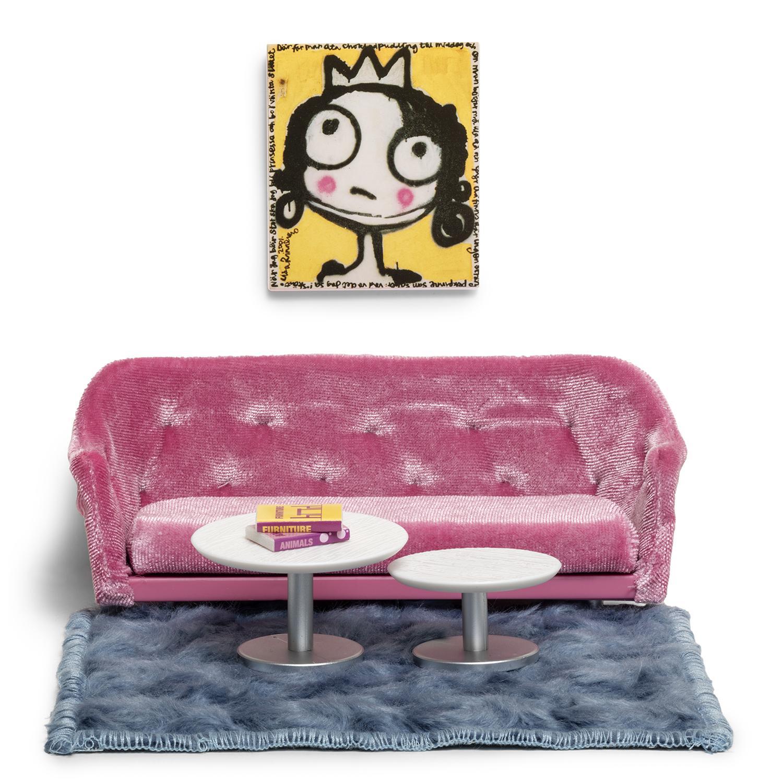 Купить Набор мебели для домика - Гостиная, Lundby