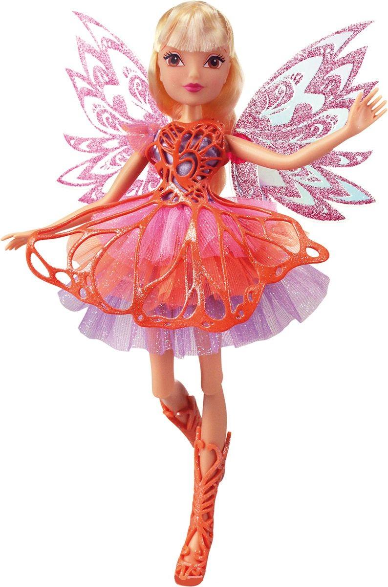 Кукла Winx Club Баттерфликс - СтеллаКуклы Винкс (Winx)<br>Кукла Winx Club Баттерфликс - Стелла<br>