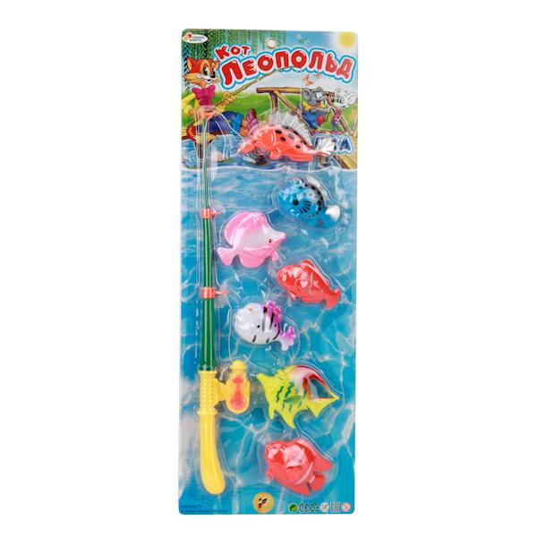 Игра Рыбалка из серии Кот ЛеопольдИгрушки для ванной<br>Игра Рыбалка из серии Кот Леопольд<br>