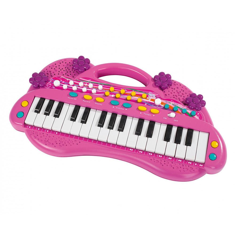 Синтезатор для девочки, 32 клавиши, 39 см.Синтезаторы и пианино<br>Синтезатор для девочки, 32 клавиши, 39 см.<br>
