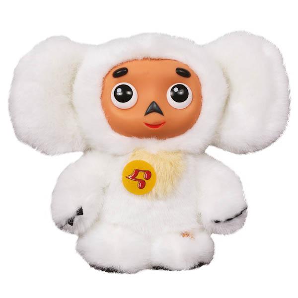 Мягкая игрушка – Чебурашка с белым мехом, озвученная, 14 см.Игрушки Союзмультфильм<br>Мягкая игрушка – Чебурашка с белым мехом, озвученная, 14 см.<br>