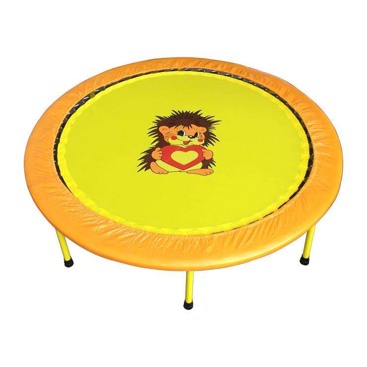 Купить Складной мини-батут 54, диаметр 138 см., оранжевый, КМС