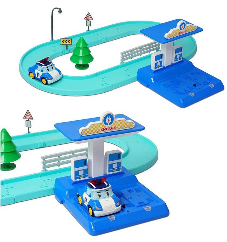Игровой набор - Трек с умной машинкой ПолиRobocar Poli. Робокар Поли и его друзья<br>Игровой набор - Трек с умной машинкой Поли<br>
