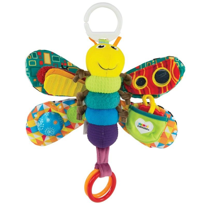 Подвеска для кроватки или коляски - Светлячок ФреддиДетские погремушки и подвесные игрушки на кроватку<br>Подвеска для кроватки или коляски - Светлячок Фредди<br>