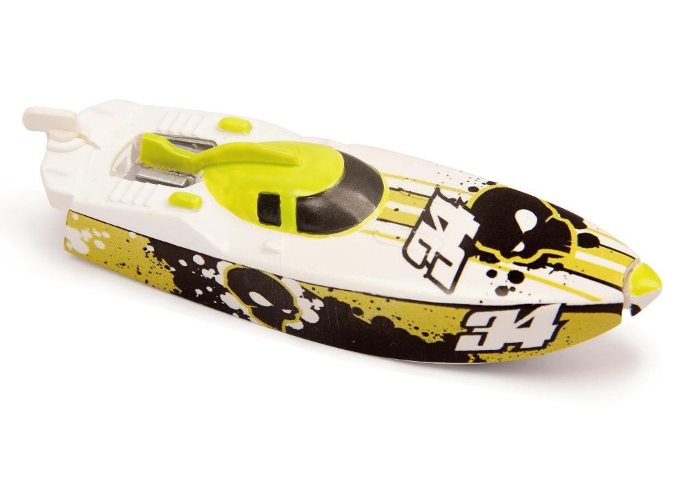 Роболодка Micro Boats, желто-белаяРоболодки<br>Роболодка Micro Boats, желто-белая<br>