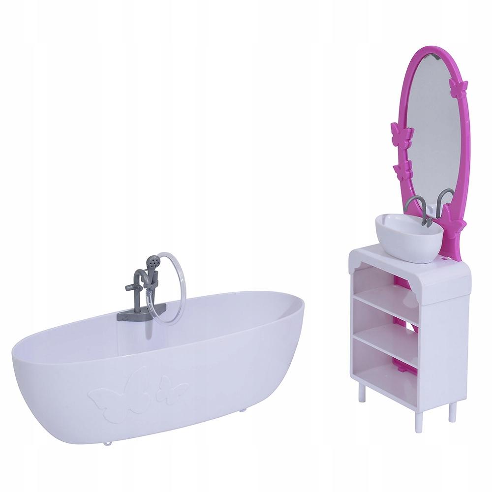 Мебель для ванной комнаты куклы Штеффи фото