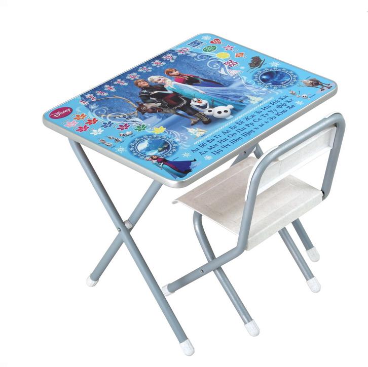 Набор детской мебели №1 Холодное сердце, серебро  ХС)Игровые столы и стулья<br>Набор детской мебели №1 Холодное сердце, серебро  ХС)<br>