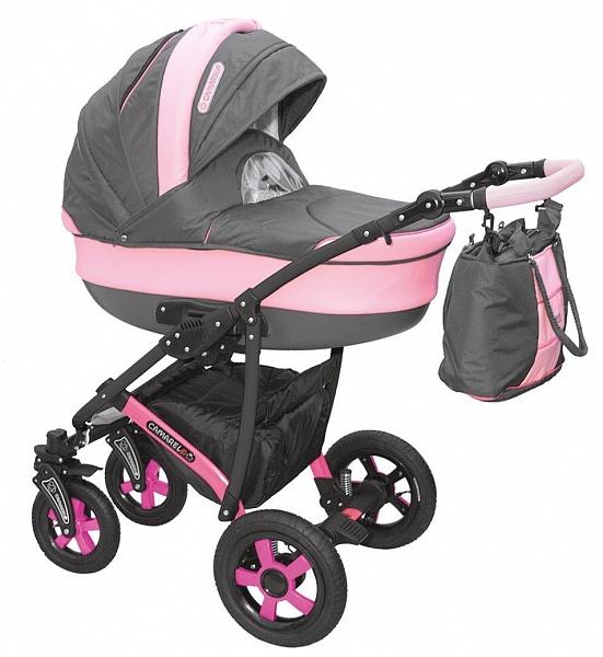 Детская коляска Camarelo Carmela 2 в 1, цвет - CR_05Детские коляски 2 в 1<br>Детская коляска Camarelo Carmela 2 в 1, цвет - CR_05<br>