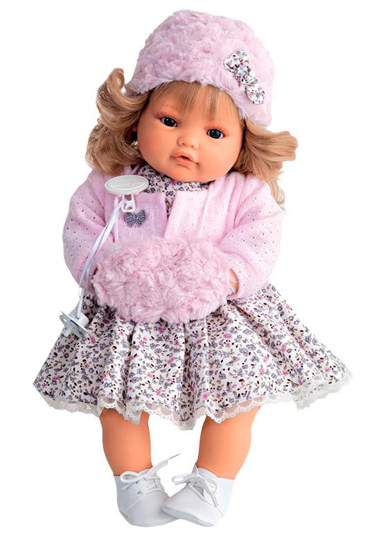 Кукла Белла, плачущая, 42 смКуклы Антонио Хуан (Antonio Juan Munecas)<br>Кукла Белла, плачущая, 42 см<br>