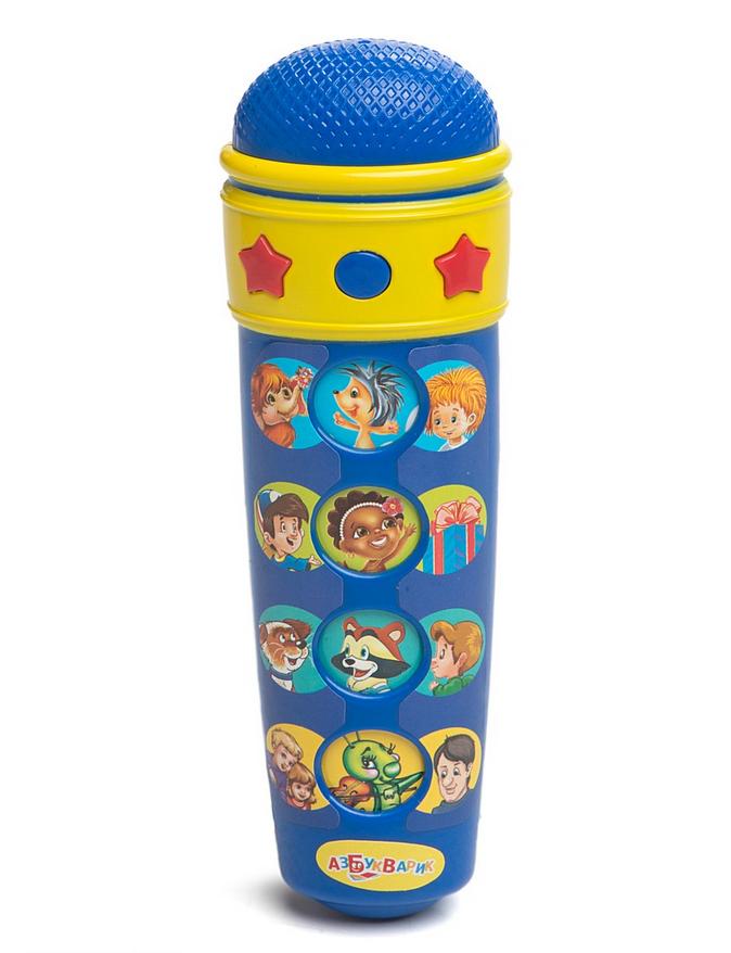 Купить Караоке-микрофон с песенками В. Шаинского, Азбукварик
