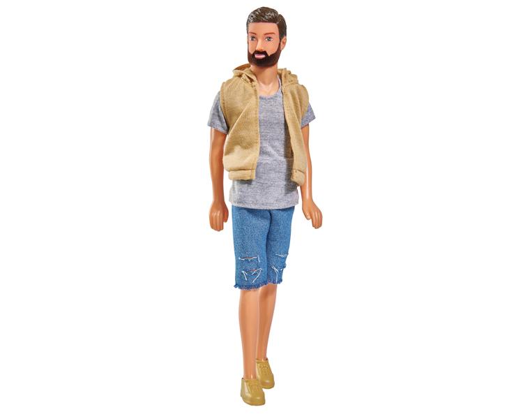 Купить Кукла Кевин с бородой в шортах, 30 см., Simba