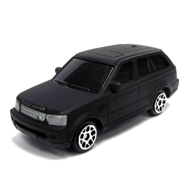 Купить Машина металлическая RMZ City - Land Rover - Range Rover Sport, 1:64, черный матовый цвет