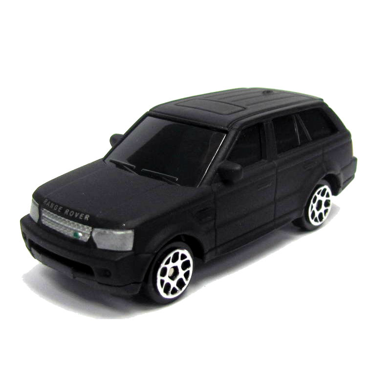 Машина металлическая RMZ City - Land Rover - Range Rover Sport, 1:64, черный матовый цветLand Rover<br>Машина металлическая RMZ City - Land Rover - Range Rover Sport, 1:64, черный матовый цвет<br>