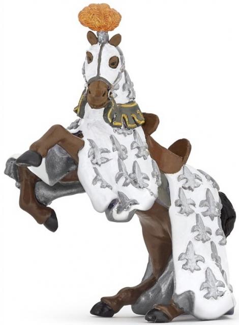 Фигурка коня принца Филиппа, белыйФигурки Papo<br>Фигурка коня принца Филиппа, белый<br>