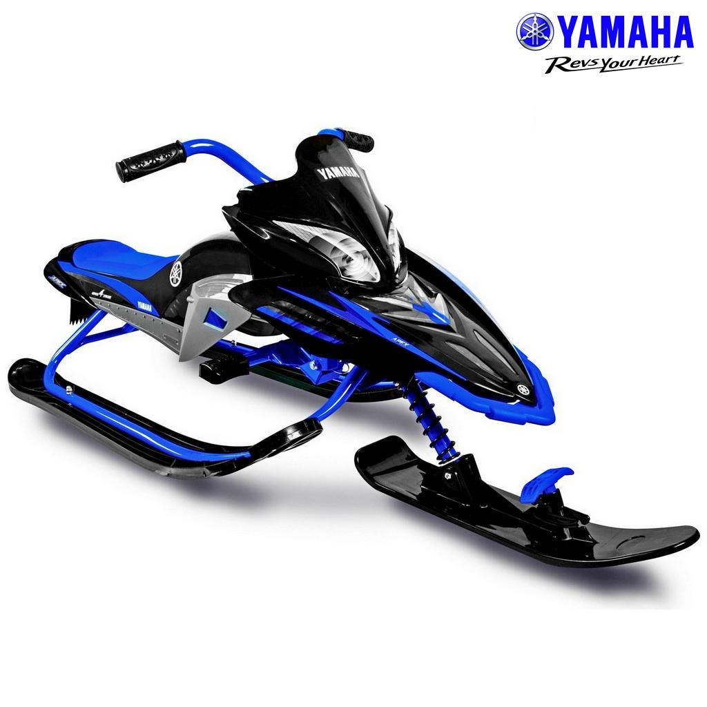 Снегокат Yamaha YM13001 Apex Snow Bike Titanium черный/синийСнегокаты<br>Снегокат Yamaha YM13001 Apex Snow Bike Titanium черный/синий<br>