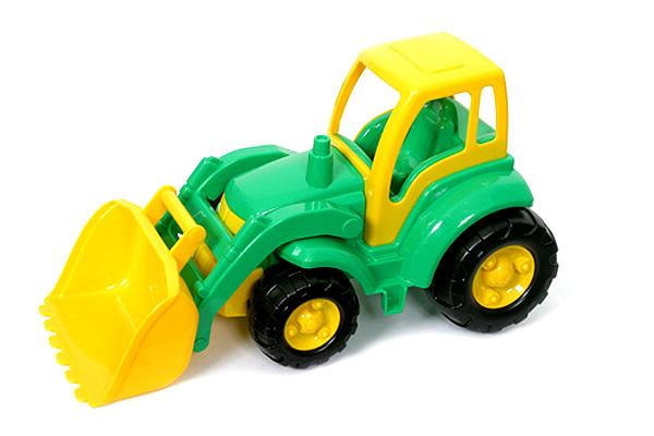 Трактор с ковшом Чемпион - Машины, артикул: 97368