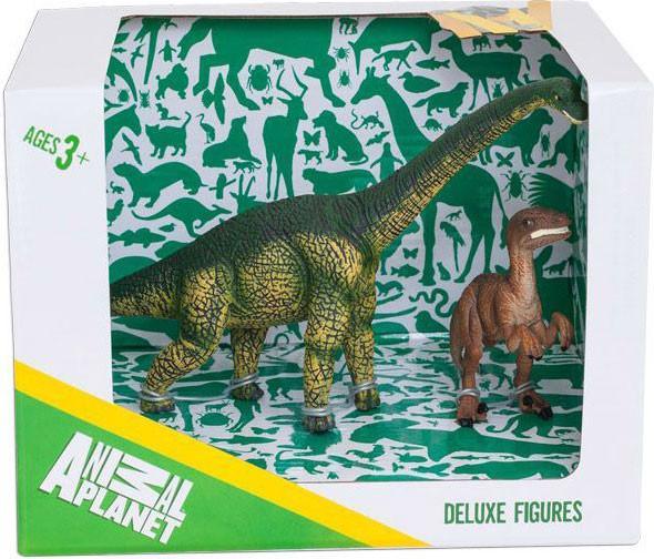 Набор Animal Planet – Динозавры, 2 штукиЖизнь динозавров (Prehistoric)<br>Набор Animal Planet – Динозавры, 2 штуки<br>
