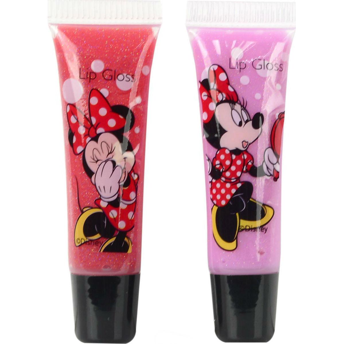 Игровой набор детской декоративной косметики для губ МинниЮная модница, салон красоты<br>Игровой набор детской декоративной косметики для губ Минни<br>