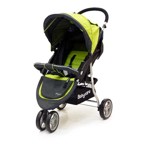 Коляска прогулочная Jogger Lite, greenДетские коляски Capella Jetem, Baby Care<br>Коляска прогулочная Jogger Lite, green<br>