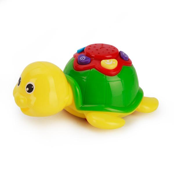 Музыкальная игрушка - Черепашка-ночник, со светом и звуком фото