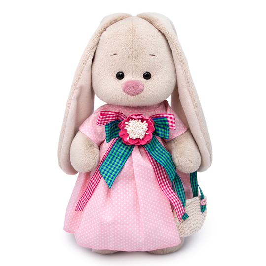 Купить Мягкая игрушка - Зайка Ми Розовая дымка, малый, 25 см, Budi Basa