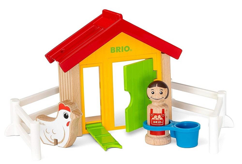 Купить Набор игровой из серии Мой родной дом – Курятник, 8 элементов, Brio