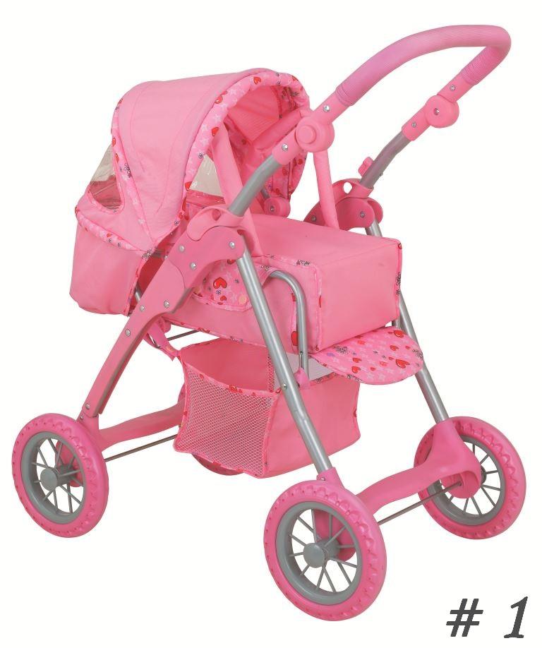 Купить Коляска для куклы с люлькой переноской, Melogo Buggy Boom, 8452