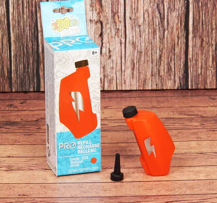 Картридж для 3D ручки Вертикаль Pro, оранжевый3D ручки<br>Картридж для 3D ручки Вертикаль Pro, оранжевый<br>