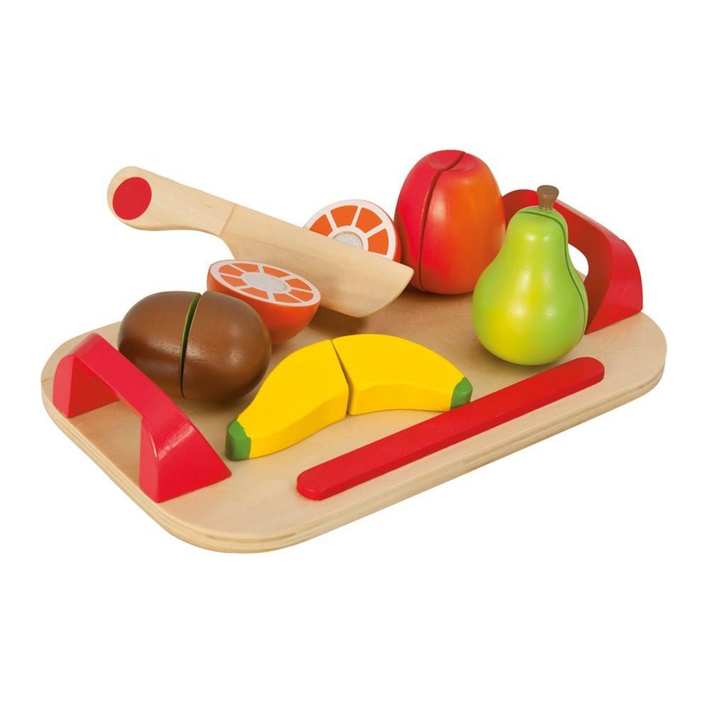 Игровой набор - Доска с фруктами, 12 предметовАксессуары и техника для детской кухни<br>Игровой набор - Доска с фруктами, 12 предметов<br>