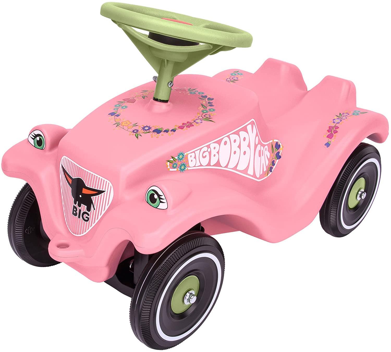 Купить Детская машинка-каталка - Bobby Car Classic розовые цветы, BIG
