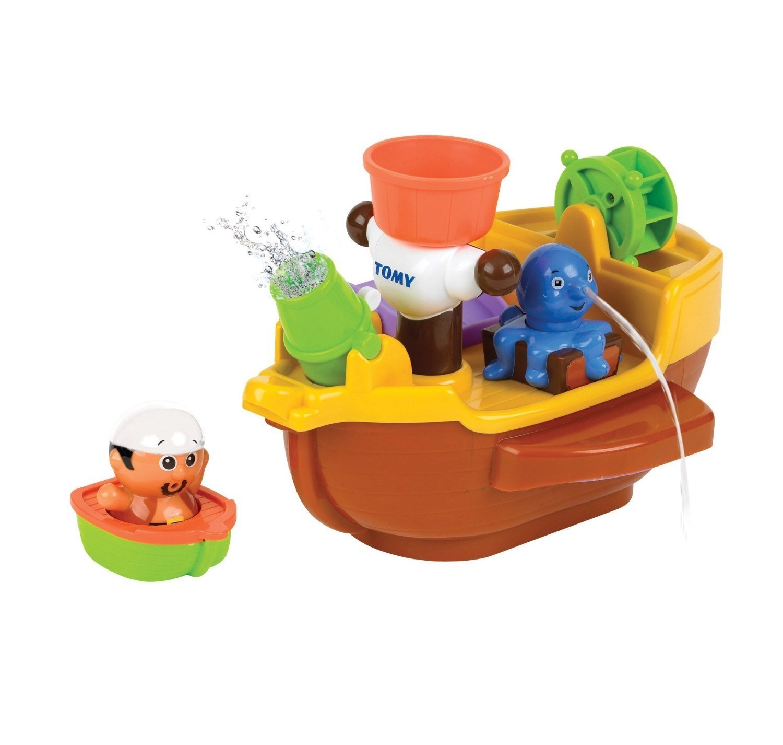 Купить Игрушка для ванной - Пиратский корабль, Tomy