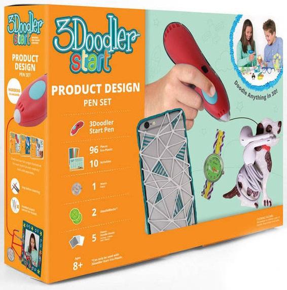 Подарочный набор с 3D-ручкой 3Doobler Star – Дизайнер3D ручки<br>Подарочный набор с 3D-ручкой 3Doobler Star – Дизайнер<br>
