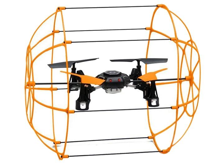 Квадрокоптер на радиоуправлении 2 цветаЛетающие игрушки<br>Квадрокоптер на радиоуправлении 2 цвета<br>