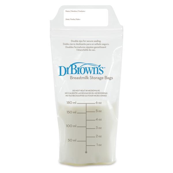 Пакеты для хранения грудного молока, 25 шт. Dr. Brown's