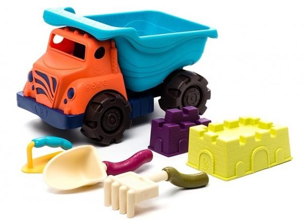 Большой самосвал и игровой набор для пескаВсе для песочницы<br>Большой самосвал и игровой набор для песка<br>