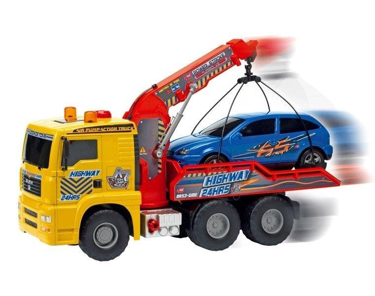 Эвакуатор с машинкой, 55 см. и 26 см.Городская техника<br>Эвакуатор с машинкой, 55 см. и 26 см.<br>