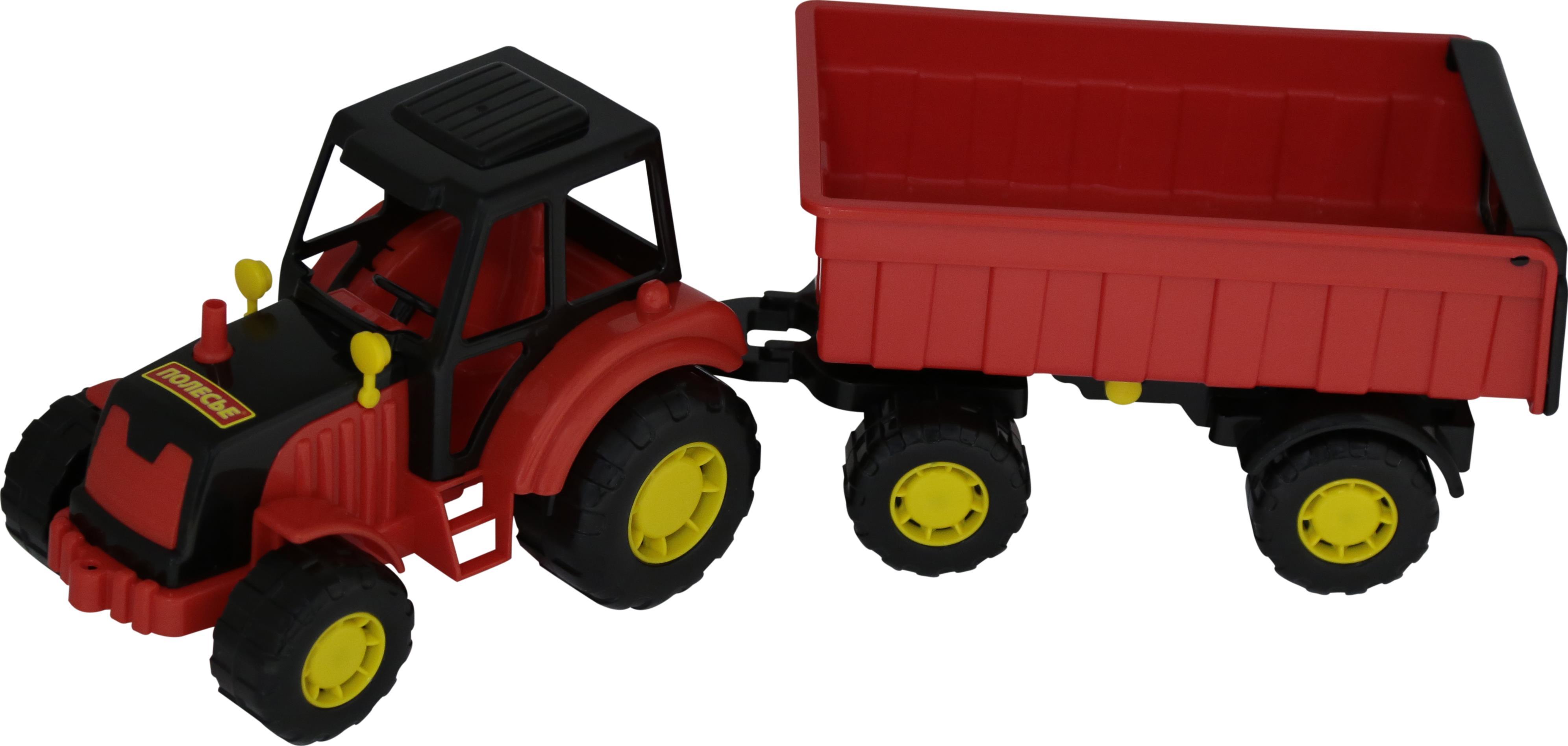 Трактор Мастер с прицепомИгрушечные тракторы<br>Трактор Мастер с прицепом<br>