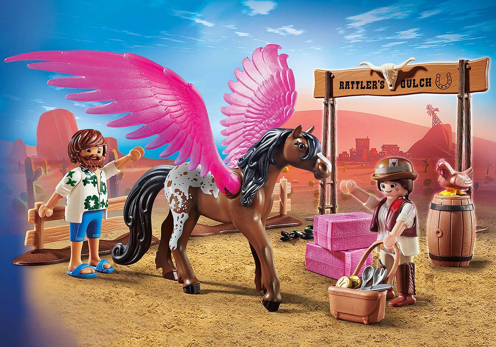 Купить Игровой набор – Фильм: Марла и Дел с Пегасом, Playmobil