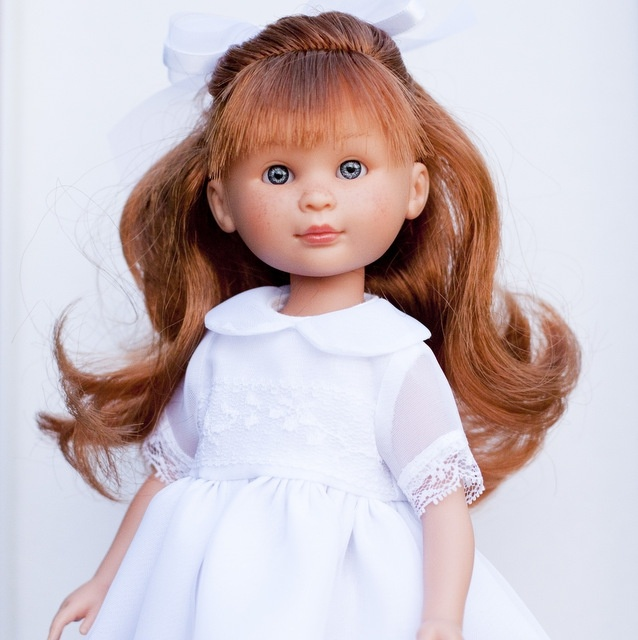 Купить Кукла Селия в белом платье, 30 см., ASI