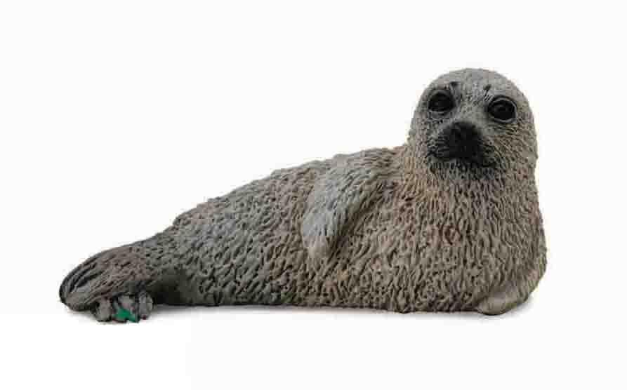 Фигурка Gulliver Collecta - Детеныш пятнистого тюленя, 5 смДикая природа (Wildlife)<br>Фигурка Gulliver Collecta - Детеныш пятнистого тюленя, 5 см<br>