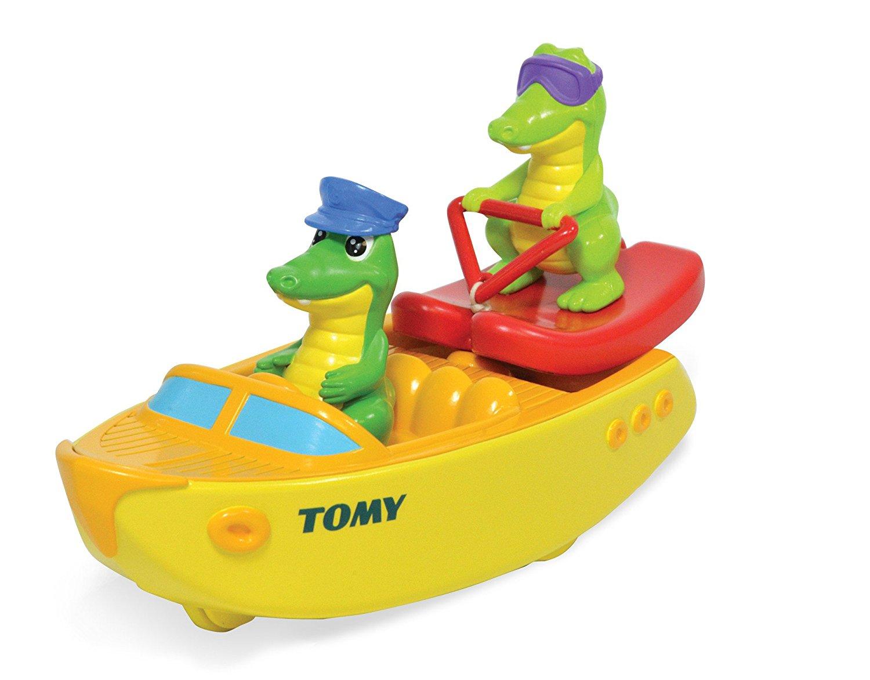 Крокодил на лодкеКорабли и катера в ванну<br>Крокодил на лодке<br>