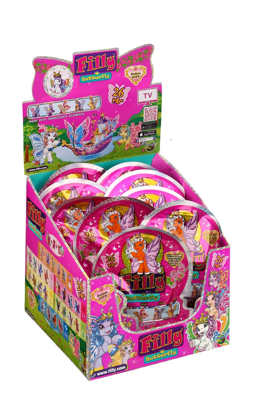 Лошадка коллекционная «Filly» - Бабочки с блестками